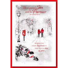 Son+Partner Tr 50 Christmas Card