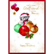 Girlfriend Cute 50 Christmas Cards