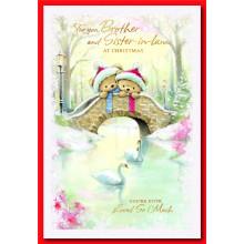Bro+Sis-il Ct 50 Christmas Cards