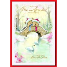 Nan+G'dad Ct 50 Christmas Cards