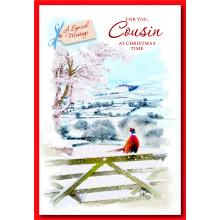 Cousin Male Trad 50 Christmas Cards