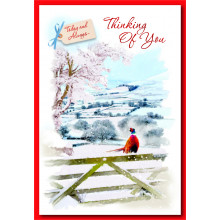 Thinking Of You Trad 50 Christmas Cards