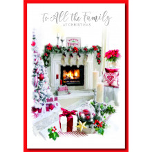 To All Family Trad 50 Christmas Cards