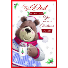 Dad Cute 75 Christmas Cards