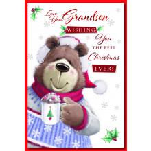 Grandson Cute 75 Christmas Cards