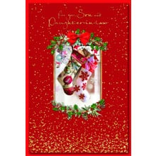 Son+Daughter-I-Law Trad 75 Christmas Cards