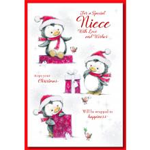 Niece Cute 75 Christmas Cards