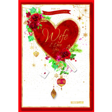 Wife Trad 75 Christmas Cards