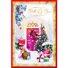 To Both of You Trad 75 Christmas Cards