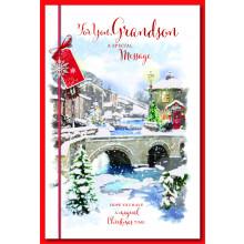 Grandson Trad 75 Christmas Cards
