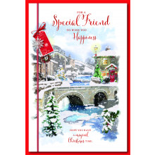 Special Friend Male Trad 75 Christmas Cards