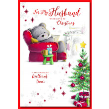 Husband Cute 75 Christmas Cards
