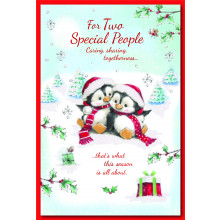 To Both Of You Cute75 Xmas Cards