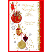 Gr-daughter Trad 75 Christmas Cards