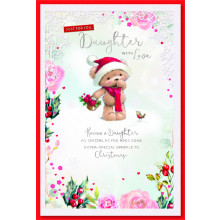 Daughter Cute 75 Christmas Cards