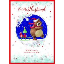Husband Cute 90 Christmas Cards