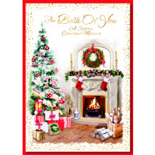To Both of You Trad 90 Christmas Cards