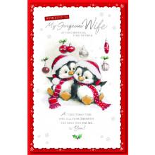Wife Cute 125 Christmas Cards