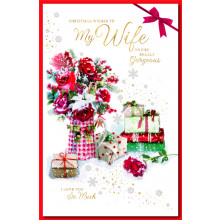 Wife Trad 125 Christmas Cards