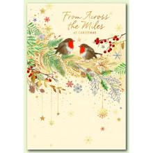 Across the Miles Robins 50 Christmas Cards