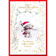 Daughter Cute 50 Christmas Cards