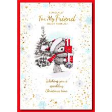 Friend Male Cute 50 Christmas Cards