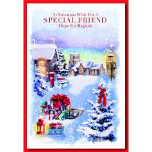 Special Friend Neut Trad 50 Christmas Card