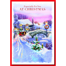 Open Couples Trad 50 Christmas Cards