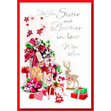 Sis+Bro-il Tr 50 Christmas Cards