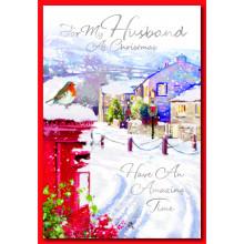 Husband Trad 50 Chrstmas Cards