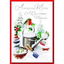 Across The Miles Robin 50 Christmas Cards
