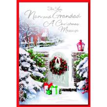 Nan+Grandad Trad 50 Christmas Cards