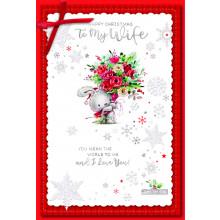 Wife Cute 75 Christmas Cards