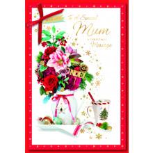 Mum Trad 75 Christmas Cards