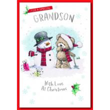 Grandson Cute 50 Christmas Cards