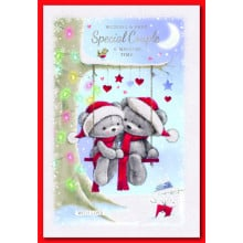 Special Couple Cute 50 Christmas Cards