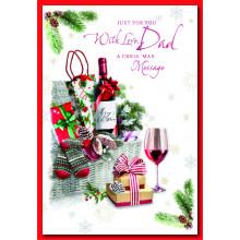 Dad Trad 50 Christmas Cards