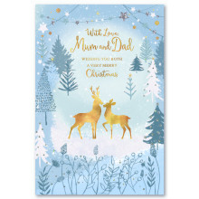 Mum+Dad Trad 50 Christmas Cards