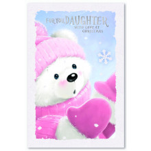 Daughter Juv 75 Christmas Cards