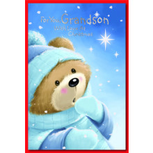 Grandson Juv 75 Christmas Cards