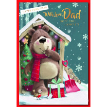 Dad Cute 50 Christmas Cards