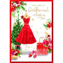 Girlfriend Trad 50 Christmas Cards