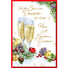 Son+Daughter-I-Law Trad 75 Chrsitmas Cards