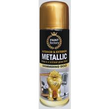 XD05010 Gold Spray Metallic 200ml