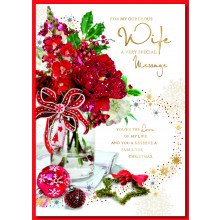 Wife Trad 90 Christmas Cards
