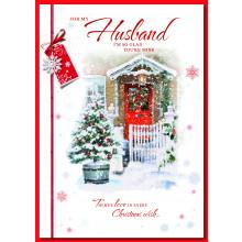 Husband Trad 90 Christmas Cards