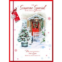 S.Spec Male Tr 90 Christmas Card