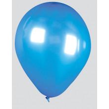 """Fantasia 12"""" Shiny Ice Blue Balloons Pack 15 - Helium Quality"""