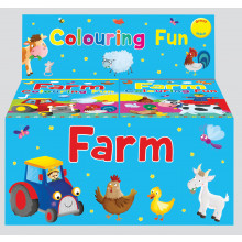 Colouring Fun Books Farm 2 Asst