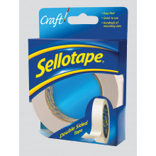 Sellotape Double Sided 25mmx33m
